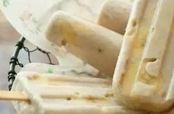 用纯牛奶在家自己做冰淇淋,方法十分简单