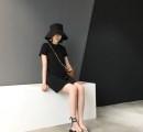 夏天穿黑色的连衣裙显瘦吗?夏天穿的黑色连衣