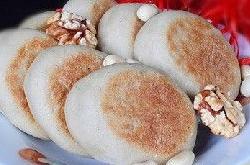 麻糖坚果豆渣饼