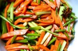胡萝卜怎么做好吃,炒胡萝卜的绝招!