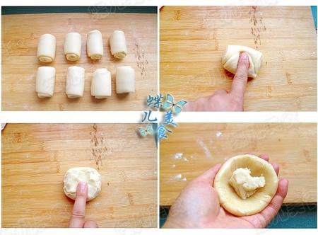 奶香糖酥烧饼的做法步骤13-16