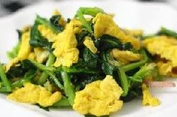 拌菠菜鸡蛋