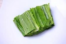 杏仁黑芝麻油麦菜步骤2