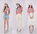 少女感十足的粉色T恤 春夏怎么搭配更好看呢