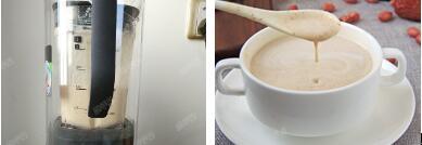 春季美容护肤早餐饮红枣花生牛奶