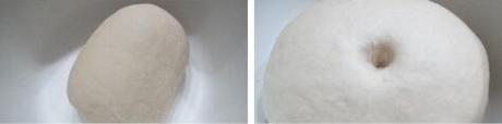 枣泥蘑菇包的做法步骤1-2