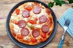 意大利萨拉咪披萨