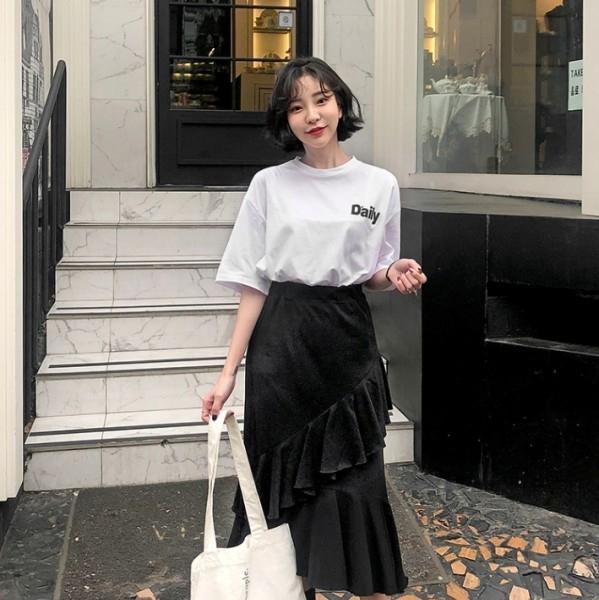 白色五分袖T恤怎么穿好看 潮人们都喜欢这样穿