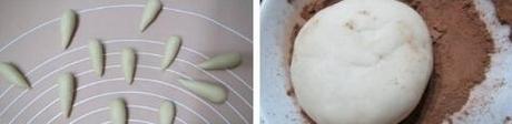 枣泥蘑菇包的做法步骤5-6