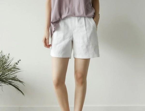 白色短裤配什么衣服 白色热裤怎么搭配
