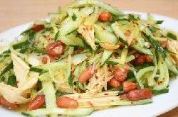 肉丝拌腐竹