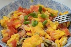 西红柿鸡蛋彩色面