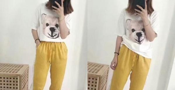 流行的德芙裤怎么搭 这样穿非常的美呦