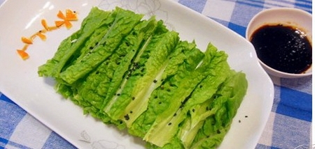 拌莴苣叶步骤7-8